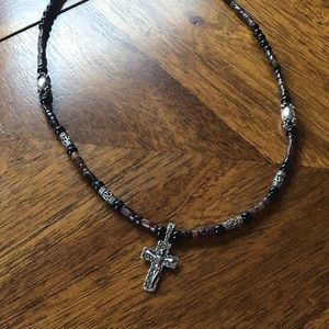 Beautiful handcrafted sterling silver cross